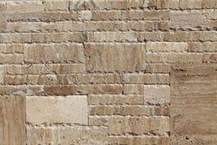 Pared de piedra del granito foto de archivo libre de regalías