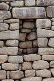 Pared de piedra del inca Imagen de archivo
