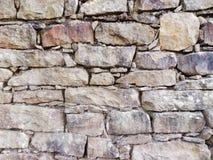 Pared de piedra EL MAHARKA - jijel Argelia del EL Fotos de archivo