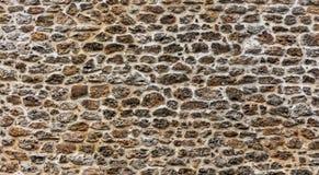 Pared de piedra en París, Francia Foto de archivo libre de regalías