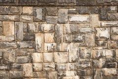 Pared de piedra envejecida Foto de archivo libre de regalías