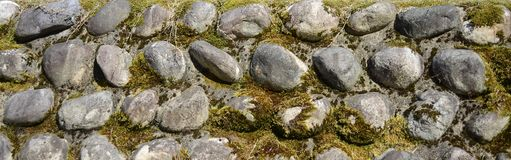 Pared de piedra - fondo - textura - papel pintado Imagen de archivo libre de regalías