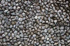 Pared de piedra gris Fotos de archivo libres de regalías