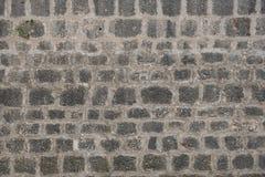 Pared de piedra gris vieja, construyendo como fondo, papel pintado foto de archivo