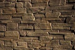 Pared de piedra de la piedra arenisca Fotos de archivo libres de regalías
