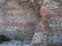 Pared de piedra medieval Fotos de archivo
