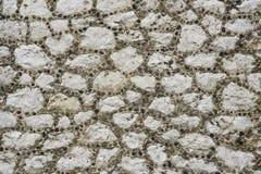 Pared de piedra medieval Fotografía de archivo libre de regalías
