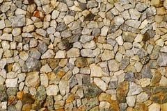 Pared de piedra natural Imagen de archivo