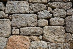 Pared de piedra natural imágenes de archivo libres de regalías