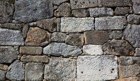 Pared de piedra natural fotografía de archivo