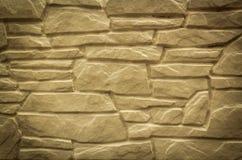 Pared de piedra natural para el interior al aire libre moderno Foto de archivo libre de regalías