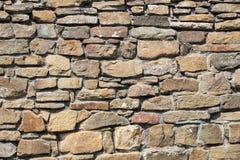 Pared de piedra, para el fondo o la textura Fotos de archivo libres de regalías