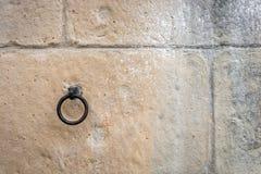 Pared de piedra para el uso como fondo Fotografía de archivo libre de regalías