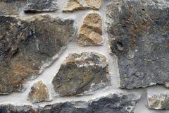 Pared de piedra rústica Fotos de archivo libres de regalías