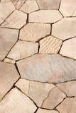 Pared de piedra rosada Imagen de archivo libre de regalías