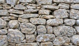 Pared de piedra rural Imagen de archivo libre de regalías