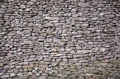 Pared de piedra seca Fotos de archivo