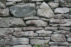 Pared de piedra seca Foto de archivo libre de regalías