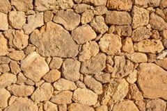 Pared de piedra seca Fotos de archivo libres de regalías