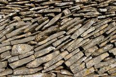 Pared de piedra seca Imagenes de archivo