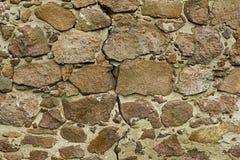 Pared de piedra seca antigua - textura/fondo preciosos Fotos de archivo