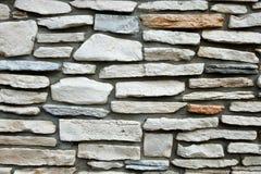 Pared de piedra tallada natural Fotografía de archivo libre de regalías