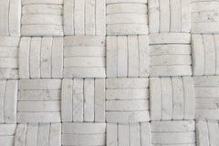 Pared de piedra tejida Imagen de archivo libre de regalías