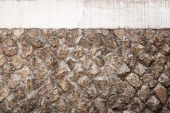 Pared de piedra urbana Fotografía de archivo