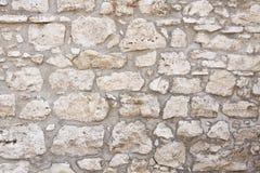 Pared de piedra vieja Fotografía de archivo