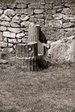 Pared de piedra vieja Fotos de archivo libres de regalías