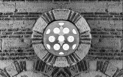 Pared de piedra vieja Foto de archivo libre de regalías