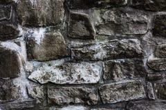 Pared de piedra vieja del monasterio Foto de archivo