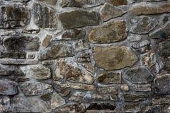 Pared de piedra vieja del monasterio Fotografía de archivo libre de regalías