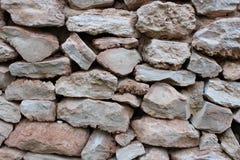 Pared de piedras marrones foto de archivo libre de regalías