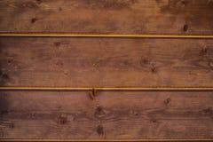 Pared de tableros de madera en estilo del vintage Imágenes de archivo libres de regalías