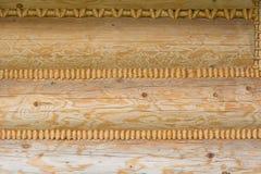 Pared de tablones de madera Imagenes de archivo