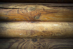 Pared de tablones de madera oscuros Foto de archivo