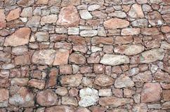 Pared de una piedra Foto de archivo libre de regalías