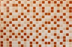 Pared del azulejo del baño Fotos de archivo