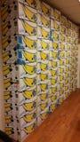 pared del bananabox Fotografía de archivo libre de regalías