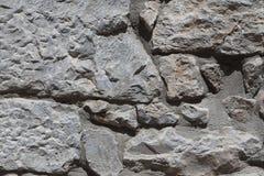 Pared del basalto texturizado piedra grande Buen fondo para el papel pintado Foto de archivo