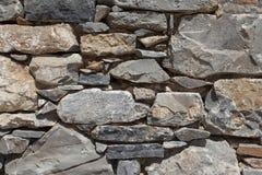 Pared del basalto texturizado piedra grande Buen fondo para el papel pintado Imagen de archivo