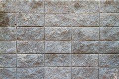 Pared del bloque de cemento Imagen de archivo