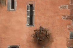 Pared del castillo Imágenes de archivo libres de regalías