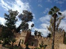 Pared del castillo Fotos de archivo libres de regalías
