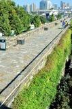 Pared del castillo de la puerta de Zhonghua Foto de archivo libre de regalías