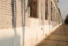 Pared del edificio viejo Fotografía de archivo