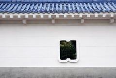 Pared del estilo chino. Fotografía de archivo libre de regalías