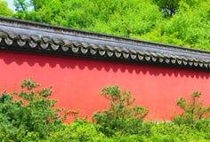 Pared del estilo chino foto de archivo