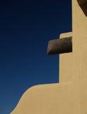 Pared del estuco del pueblo Imagenes de archivo